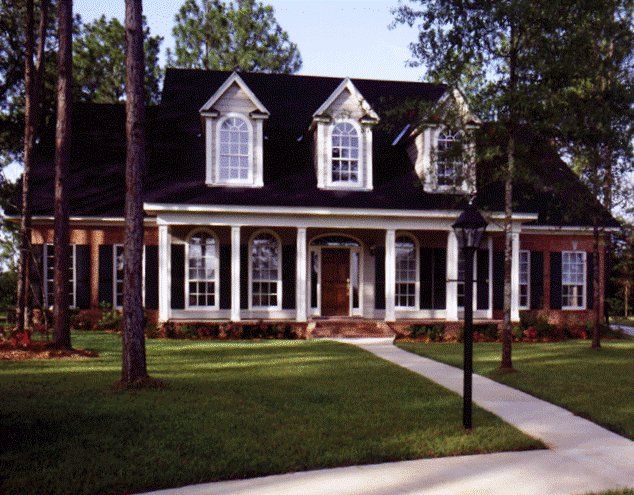 SOUTHERN House Exterior Design Southern Cottage House Plans