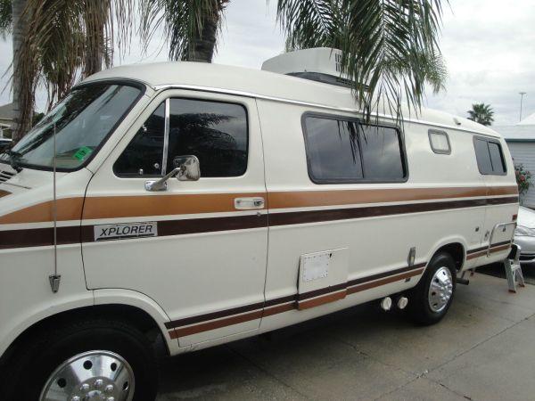 Dodge Camper Van - Year of Clean Water