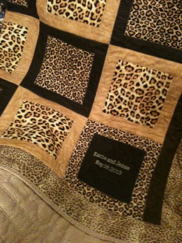 Animal Print Quilts Leopard Quilt - Number 2 '