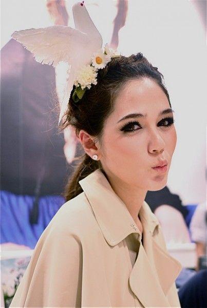 Cute Hair Style Thai Star Make Up & Dress Up Pinterest