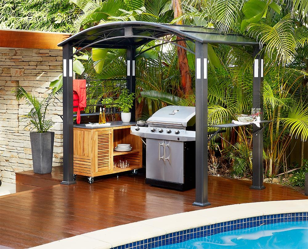 outdoor kitchen for small spaces  Google Search  Outdoor