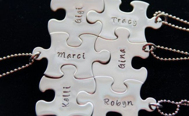 Unique Personalized Christmas Gift For Friends Puzzle