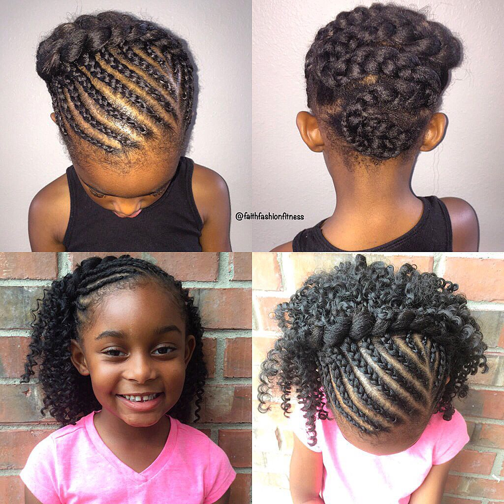 Kids crochet braids style  Natural hairstyles for kids