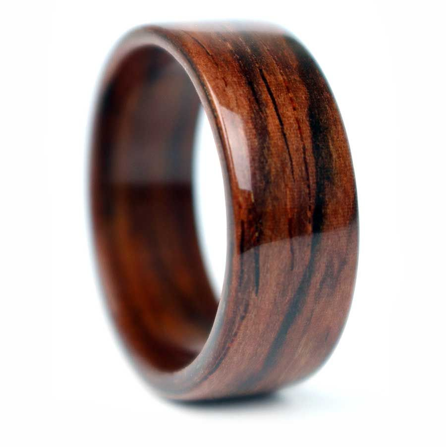 Wood Mens Wedding Ring