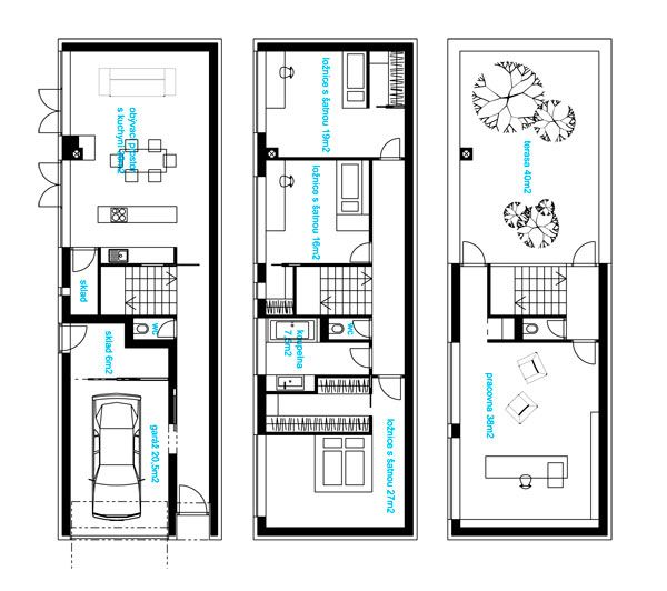Stahl House  Floor Plans  Pinterest  Study Case study and House plans