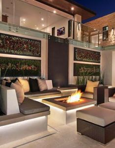 Galatea luxury home   elegant contemporary interiors get  glimpse of sleek lines with earthy shades also rh pinterest