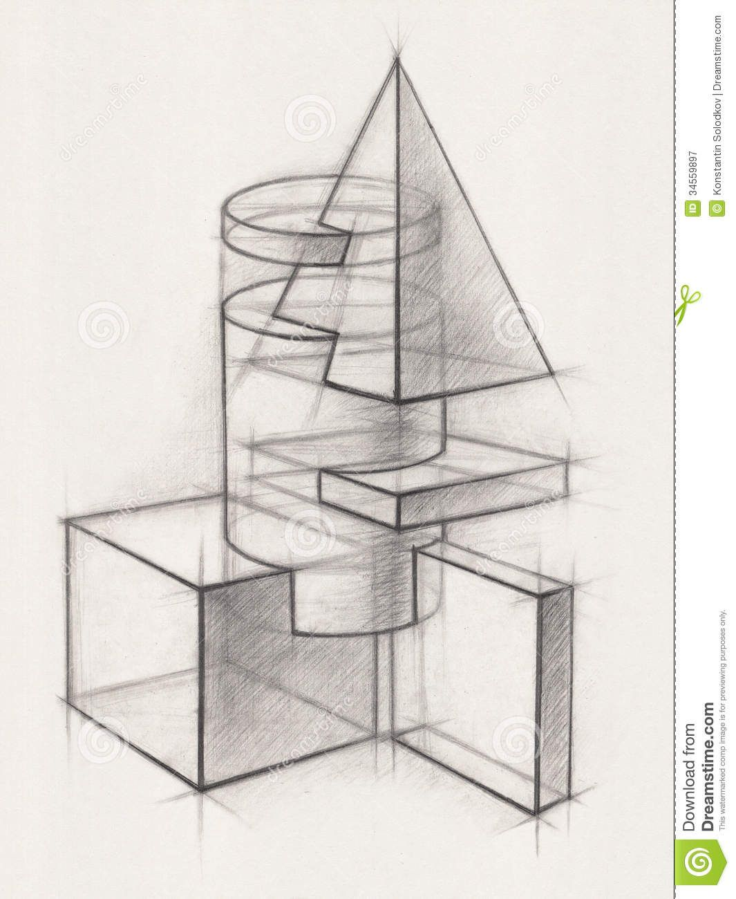 Pix For Gt Geometric Shape Drawing