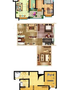 types of interior design layouts photoshop psd template  also rh pinterest