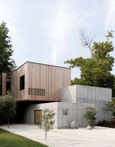 Arch also concrete box house interiorzine architecture pinterest rh