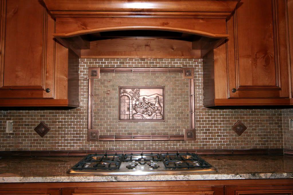 kitchenbacksplash  kitchen decor with copper tuscan