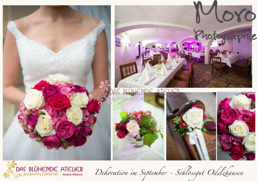 brautstrau  blumendeko  Pinterest  Hochzeit and Wedding