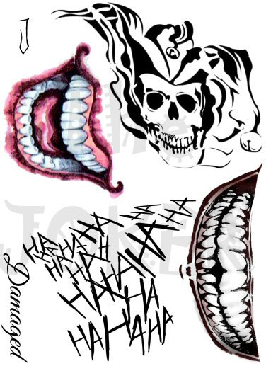 20 The Jokers Hand Tattoos Printables Ideas And Designs