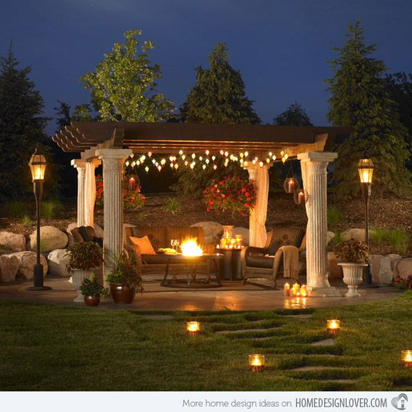 15 Designs Of Pergolas To Shade Seating Areas Gardens Wooden