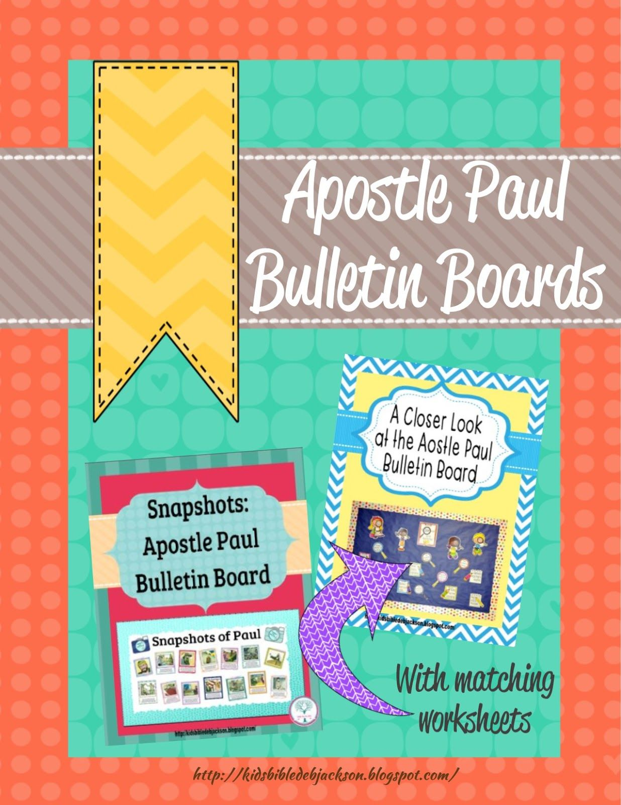 Apostle Paul Bulletin Boards With Printables