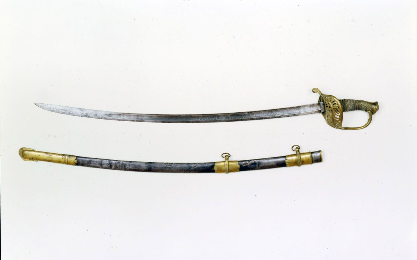 Confederate General Thomas Stonewall Jackson S Saber