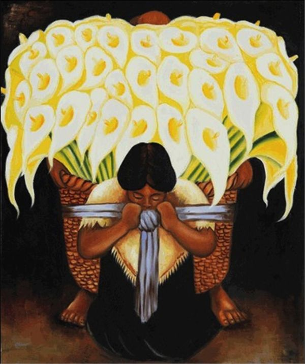 Diego Rivera Art Painting