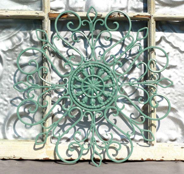 Outdoor Wrought Iron Metal Wall Art
