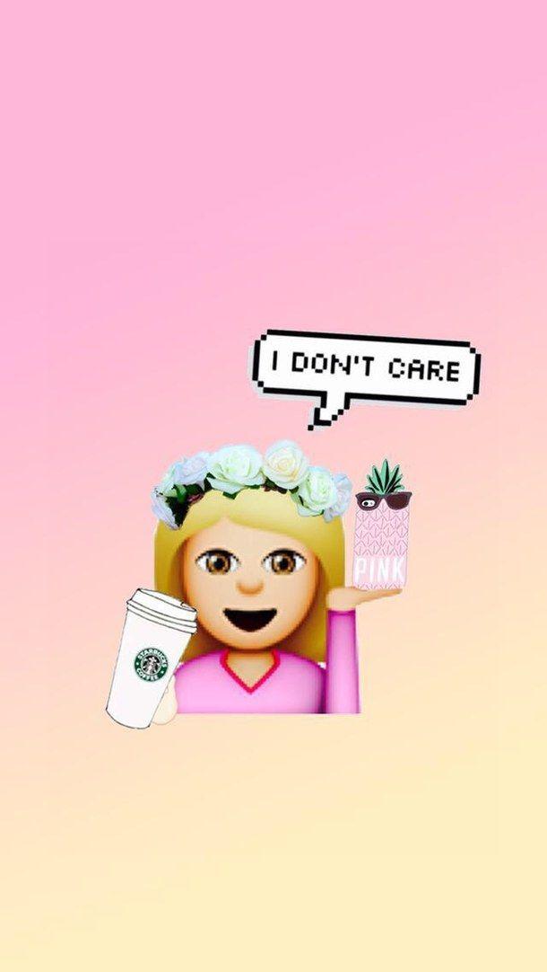 Disney Princess And Love Quotes Wallpapers For Windows 7 Emoji Girl Pink Starbucks Wallpaper Pink Baby
