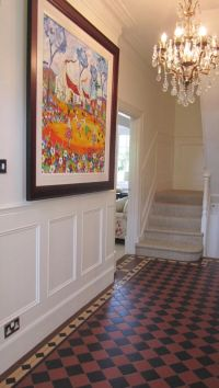 Wall Panelling Wood, Wall Panels, Painted,-Stair Panels ...