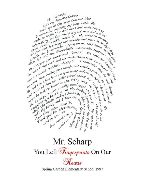 Fingerprint Design Personalized for your by myloveydove on