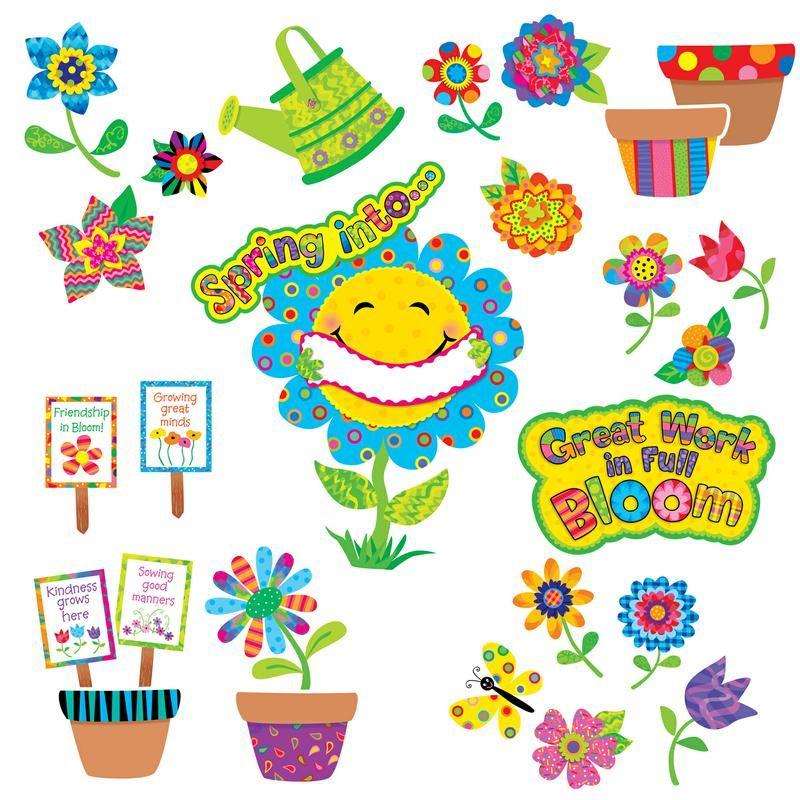 Reading Garden Bulletin Board Set Classroom Decoration Ideas