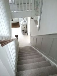 Stairs & panelling   Stairs + Trim Detailing   Pinterest ...