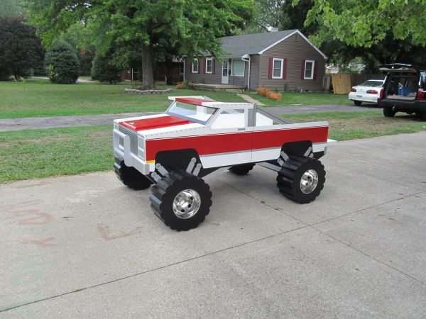 Pick Up Truck Toddler Bed