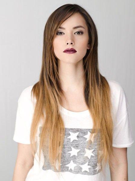 Dip Dye Look Einfach Selbermachen Schönheit Ombré Hair Und Dips