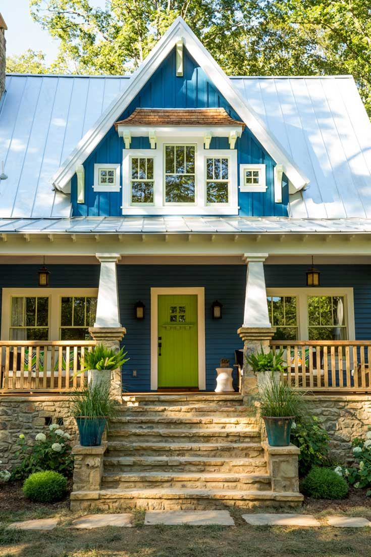 The Idea House A Craftsman Style Cottage In Georgia Extérieur