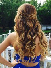 hoco hair inspo loving braided