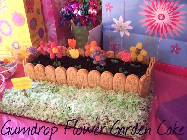 Gumdrop Flower Garden Cake I Am So Making This For Mothers Day