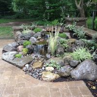 Landscape Garden Design, Waterfalls Water Feature, Patio ...