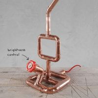 Copper pipe Table Lamp MT50011 | Pipe Lamp | Pinterest ...