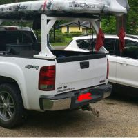 Kayak Truck Rack | Fishing | Pinterest | Kayak truck rack ...