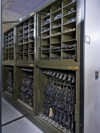 Military Storage Solutions: Pistol Racks, Weapons Rack