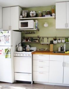 Small kitchen designs organized efficient and tiny real life kitchens stove raising also rh pinterest