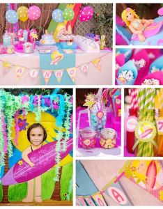 Surfer girl surf birthday party via kara   ideas karaspartyideas also the best images about surfing on pinterest board rh uk