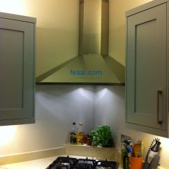 Kitchen Refinishing Ideas Cabinet Doors Home Depot Falmec Design Elios Wall Corner Hood | ...