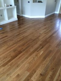 Special Walnut floor color from Minwax. Satin finish | New ...