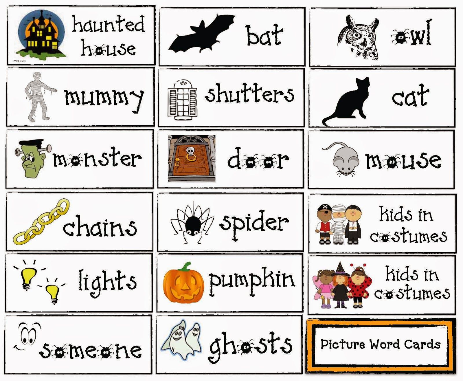 Haunted Onomatopoeia House Song And Games For Halloween