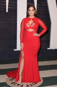 Ashley Graham rocks a bondage-inspired gown at Vanity Fair ...