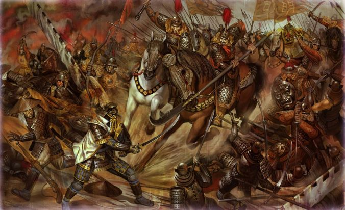 Resultado de imagem para samurai war