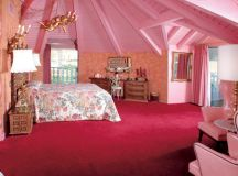 Beautiful Royal Looking Pink Color Bed Room Interior ...