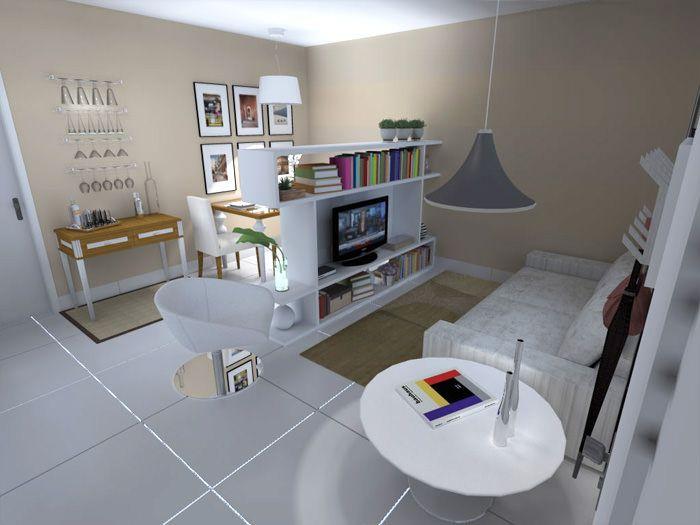 Como decorar uma sala quadrada  Salas Salas retangulares e Porta de