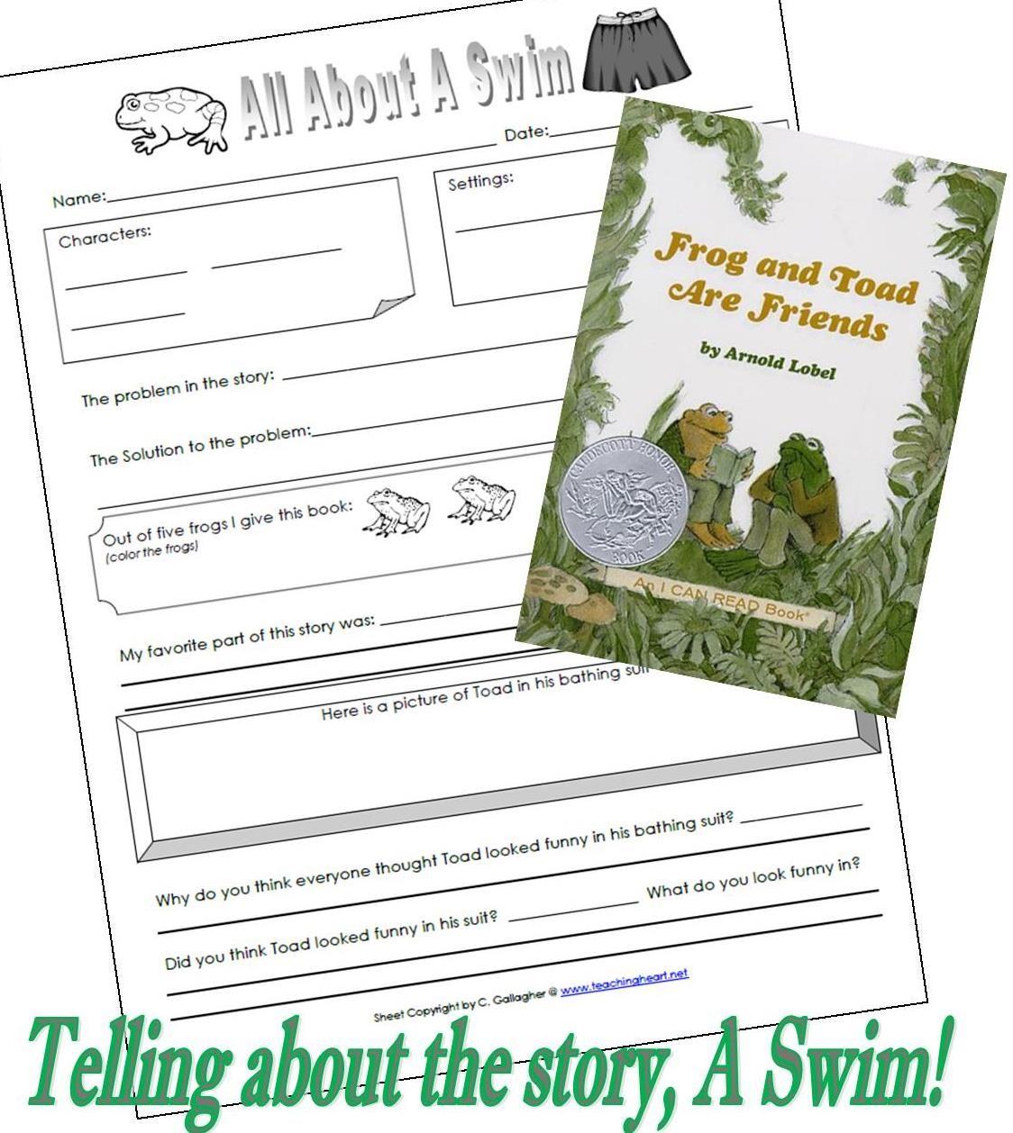 Find The Frog Worksheet