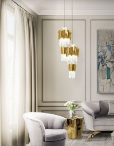 Empire pendant is  luxury lighting pieces combining the traditional forms with an unique contemporary expression interior design home ideas also rh pinterest