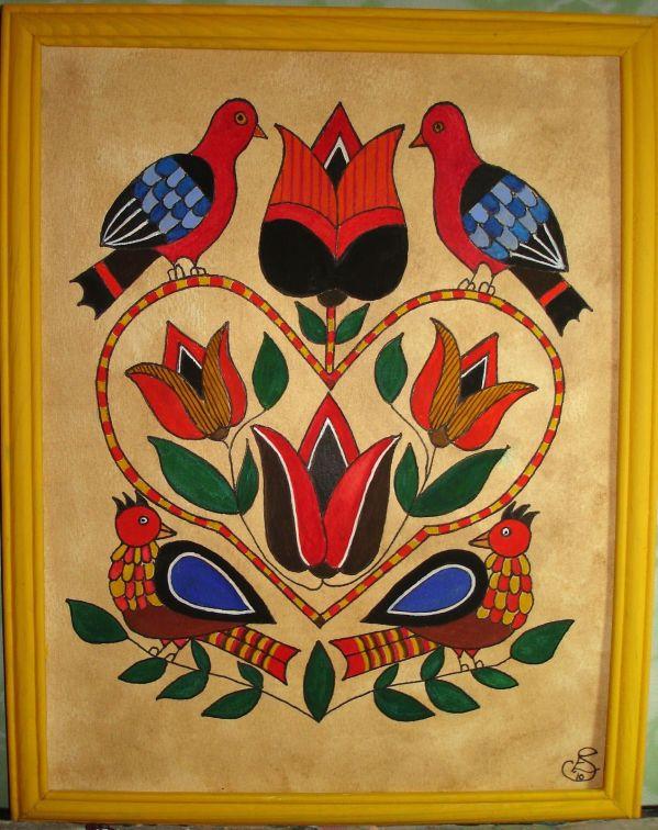 German Pennsylvania Dutch Folk Art