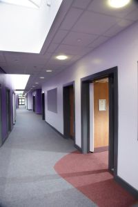 Fibre bonded carpet installed at Chapelford Primary School