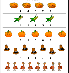 Thanksgiving Worksheets For Kindergarten - Kindergarten [ 1056 x 816 Pixel ]