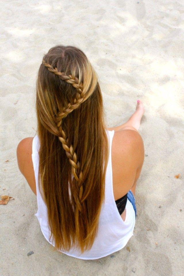 Beach Braid Luv Hair Pinterest Beach Braids Beaches And Braids